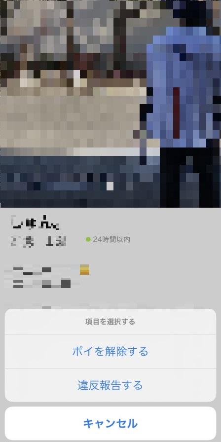 ポイボーイのブロック選択画面